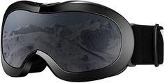 VELAZZIO Kids Ski Goggles, Snowboard Goggles OTG Snow Goggles Anti-Fog Double-Layer Lenses, 100% UV Protection Best Ski Goggles, Snowboard Goggles, Snowboarding, Skiing, Kids Skis, Best Skis, Three Kids, Bicycle Helmet, Lenses