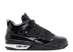 49e2dfba4 Nike Air Jordan Retro 4 11lab4 11 Lab 4 Patent Leather 719864-010 Black XI