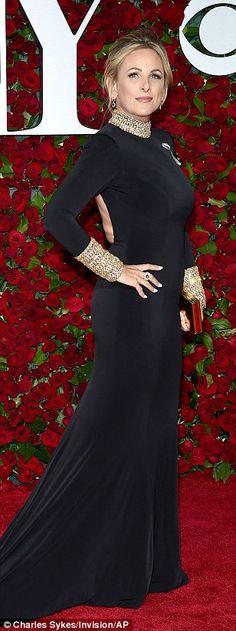 Strike a pose: Marlee Matlin,Judith Light andChita Rivera kept it chic in black ensemble...