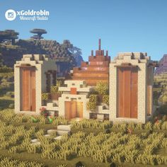 Goldrobin Minecraft Builder on In Minecraft Temple, Minecraft Kingdom, Minecraft Mansion, Easy Minecraft Houses, Minecraft Plans, Minecraft House Designs, Amazing Minecraft, Minecraft Decorations, Minecraft Survival
