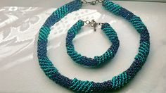 Set bijuterii Beaded Necklace, Lei, Handmade, Jewelry, Fashion, Bead, Beaded Collar, Moda, Hand Made