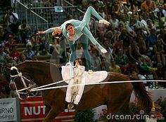 Photo about Brazilian team on World vaulting championship 2008 in Brno, Czech republic. Image of rider, championship, body - 5954930 Trick Riding, Acro, Horse Photography, Vaulting, Equestrian, Horses, Stock Photos, World, Fitness Workouts