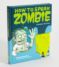 How to Speak Zombie - $16.00 // with electronic sound module that demonstrates proper zombie pronunciation