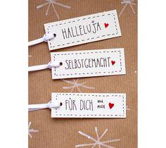 ☆ 36 handgeschriebene Geschenkanhänger, um deine schönen Geschenke noch schöner zu machen (wenn das überhaupt möglich ist) ☆ ☆☆☆ ☆ 36 handwritten gift-tags for christmas time ☆ ☆☆☆