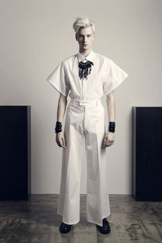 CHRISTIAN DADA - LOOK BOOK • Spring/Summer 2014 • Fashionsnap.com