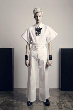 CHRISTIAN DADA - LOOK BOOK • Spring/Summer 2014 • Fashionsnap.com