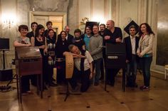 Group picture taken during the Theremin Spring Academy 2014 in Leipzig