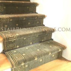 Carpet Runners And Stair Treads Beige Carpet, Carpet, Diy Carpet, Nourison, Stair Runner, Rugs On Carpet, Contemporary Stairs, Layered Rugs, Hallway Decorating