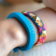 A wearable fitness tracker would make a great gift for someone who wants to be more active or who nerds out on fitness data like me :) | Jawbone UP