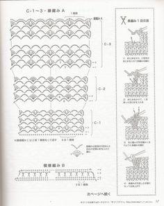 Bellas puntadas en crochet para diseñar vestidos de moda con moldes  Fine stitches in crochet dresses fashion to design molds