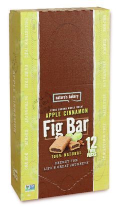 Nature's Bakery Whole Wheat Fig Bars, Apple Cinnamon Bars), Packaging May Vary, Non GMO, Vegan Snacks Fig Bars, Up Fitness, Apple Seeds, Breakfast Snacks, Trans Fat, Snack Bar, Pick Me Up, Vegan Snacks, Cinnamon Apples