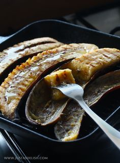 Grilled Plantains recipe from @justasdelish - Can't wait to try it!