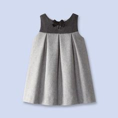 Flannel pinafore dress from Jacadione word: classy!Take a look at the timelessly elegant collections of baby, toddler and kids clothes, shoes and accessories that Jacadi designed for children of all ages.This Pin was discovered by BEL Baby Girl Dress Design, Girls Frock Design, Baby Girl Dresses, Baby Girls, Little Girl Outfits, Little Girl Dresses, Kids Outfits, Frocks For Girls, Kids Frocks