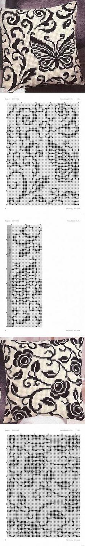 Mejores 2946 imágenes de bordados en punto cruz en Pinterest en 2019 ...
