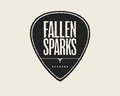 Fallen Sparks Records #design #branding #logo