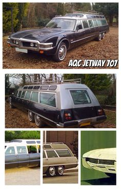 AQC Jetway This 1968 people mover takes it to the extreme! Had 9 doors, and could fit 15 people in individual benches. Mind blowing dimensions X X ! Gmc Trucks, Station Wagon, Car Stuff, Mind Blown, Benches, Automobile, Vans, Doors, Vehicles