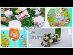 DIY/Ostern/Osterdeko Frühling Selber Basteln/aufhänger/Eier Kerze/Ferrer... Ferrero, Diy Ostern, Table Decorations, Home Decor, Circle Of Friends, Egg, Candles, Decorating, Ideas