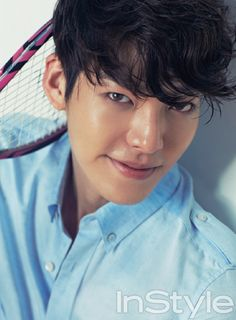 Kim Woo Bin - InStyle Magazine June Issue '13