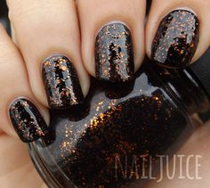 China Glaze Fortune Teller Black Nail Polish, Nail Polish Colors, Nail Polishes, Fabulous Nails, China Glaze, Halloween Nails, Manicure And Pedicure, Nail Care, You Nailed It
