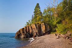 Lutsen Lodge Lake Superior Beach