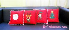Almofadas Natalinas / Christmas pillows