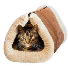 Warm Plush Kitten Cat Dog House Puppy Cave Pet Sleeping Bed Zipper Mat Pad Igloo >> Remarkable product available now. : Cat condo