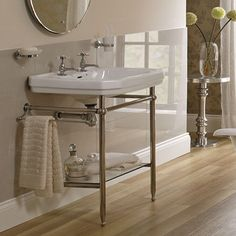 Victorian 560 Basin With Stand | bathstore