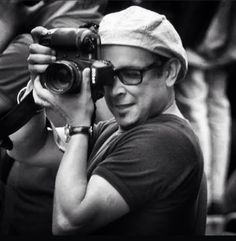 #RajSuri - the photographer in action - photo taken by Russell Thomas in Sydney Australia