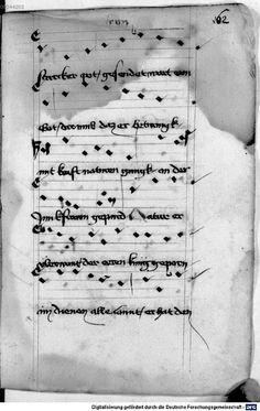 Mönch von Salzburg. Oswald von Wolkenstein: Geistliche Lieder mit Melodien Bayern/Österreich, erste Hälfte 15. Jh.: 3. Viertel 15. Jh. Cgm 715 Folio 137