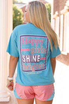 Happy Girls Shine Brighter - SS