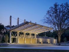 Festival Park Performance Pavilion, Fayetteville, United States  by: Pearce Brinkley Cease + Lee, SfL+a Architects, PA