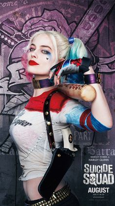 harley quinn, suicide squad, and wallpaper resmi