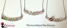 Make your own signature necklace. www.charmsations.com / #dazzleyou