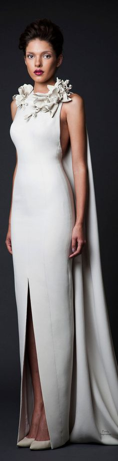 Krikor Jabotian FW2014 wedding dress