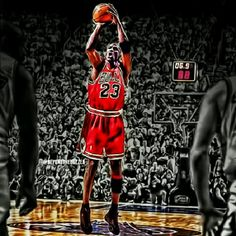 Micheal Jordan's final shot on Bulls Jordan 23, Michael Jordan, Nba Players, Mj, Cool Pictures, Air Jordans, Legends, Chicago, Basket