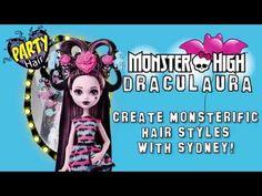 New Monster High Party Hair Draculaura Doll - Monster High muñeca Dracul...