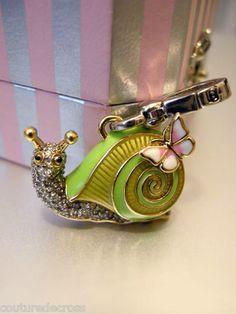 Juicy Couture Charm Limited Edition Snail with Box