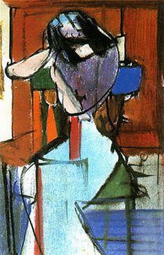 Franz Kline  Seated Figure (Elizabeth) 1948