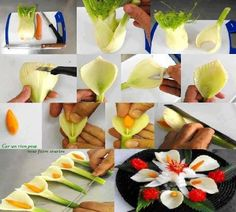 Flower Food Decorations :)