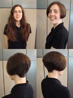 Stacey's fresh new Short Bob Haircut! Stunning!!!