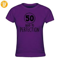 50 Years Aged to perfection Frauen T-Shirt by Shirtcity - Shirts zum 50 geburtstag (*Partner-Link)