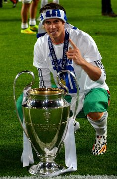 Gareth Bale won the Champions League during first season with Real Madrid