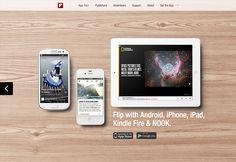 안드로이드와 아이폰 앱을 소개하는 21개의 깔끔한 웹사이트