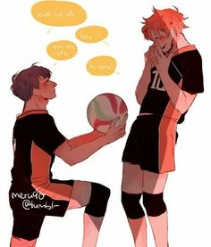 Kagehina Ball Proposal <<< this is beautiful 😍 Haikyuu Kageyama, Haikyuu Manga, Hinata, Haikyuu Funny, Haikyuu Fanart, Haikyuu Ships, Anime Manga, Haikyuu Volleyball, Volleyball Anime