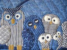 Quilt Owl Quilt http://bit.ly/I7rvy0