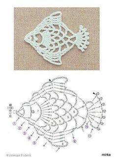 Pesci a crochet