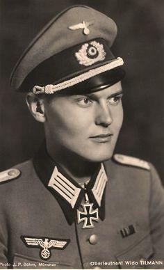 ✠ Wido Tilmann (16.09.1917 – ) RK 22.12.1941 Leutnant d.R. Zugführer i. d. 2./Pi.Btl 297 297. Infanterie – Division