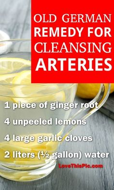 This Old German Remedy contains powerful natural ingredients that will clear up arteries and positively affect your overall health.