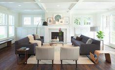 furniture arrangement tips large furniture first