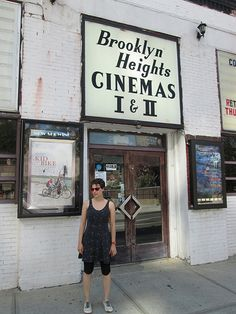 Brooklyn Heights Cinemas (DUMBO). Great for getting in those Indie flicks....therefore i will go one day